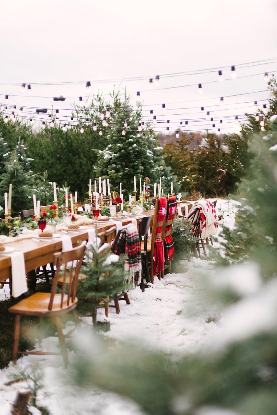 INSPIRACIÓN DE MESA NAVIDEÑA mesa-boda-navidad