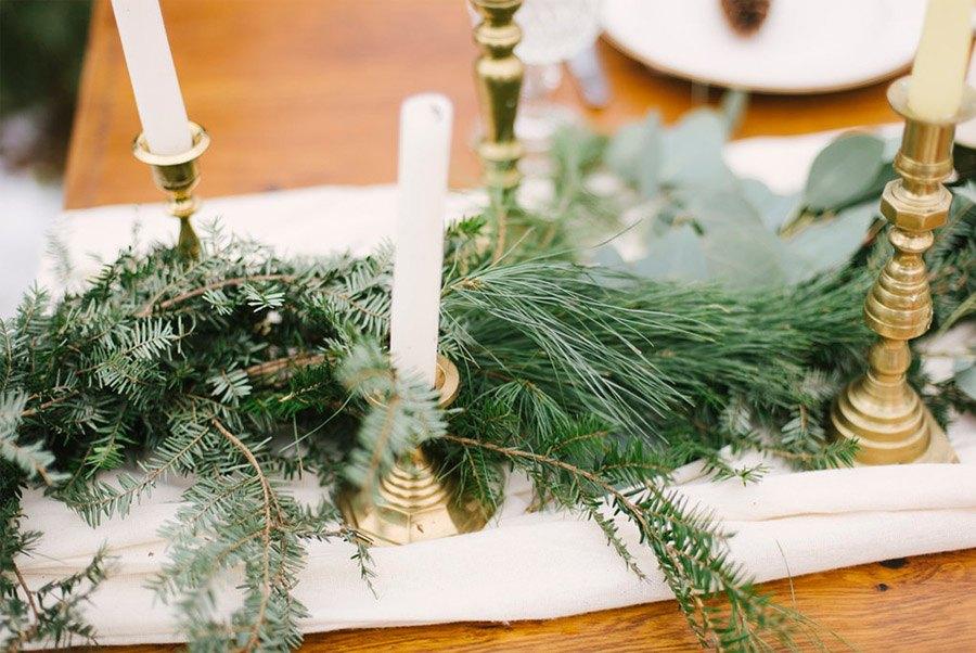 INSPIRACIÓN DE MESA NAVIDEÑA mesas-boda-invierno