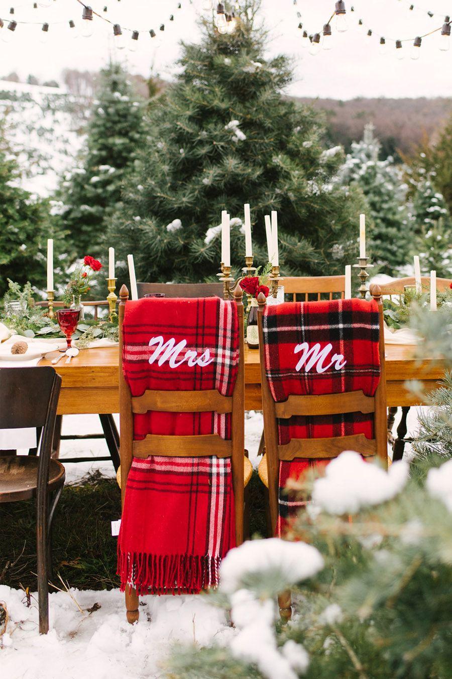 INSPIRACIÓN DE MESA NAVIDEÑA mesas-boda-navidad
