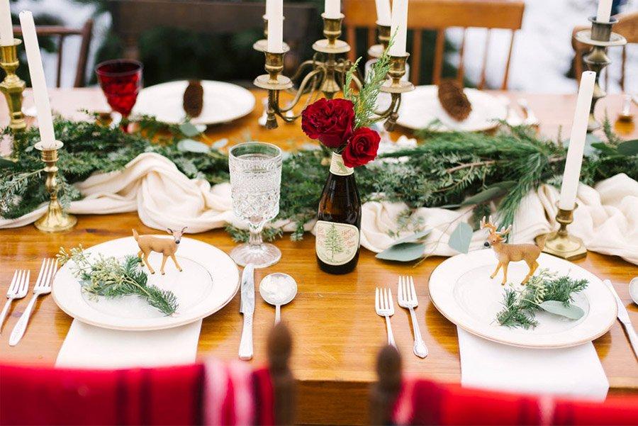 INSPIRACIÓN DE MESA NAVIDEÑA mesas-de-navidad