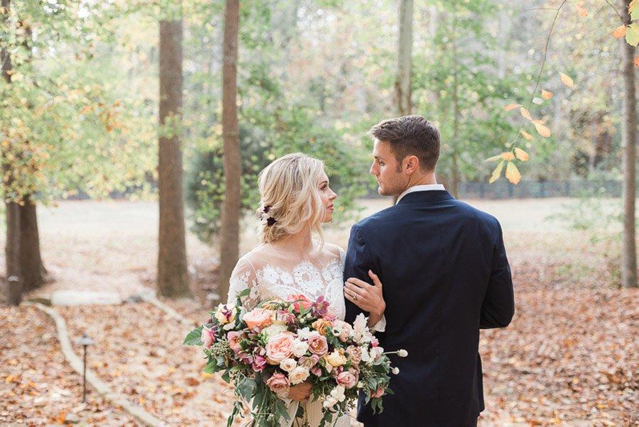 UNA CÁLIDA BODA DE INVIERNO novios-boda-invierno