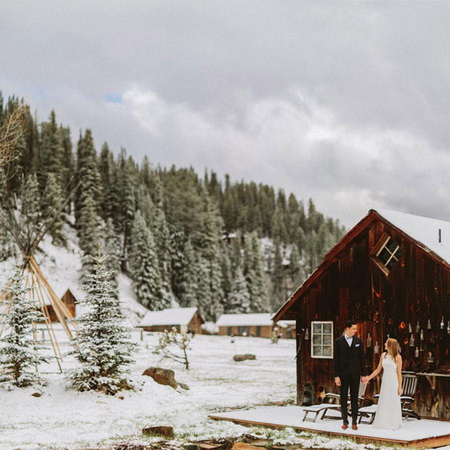 ÍNTIMA BODA DE INVIERNO boda-en-la-nieve
