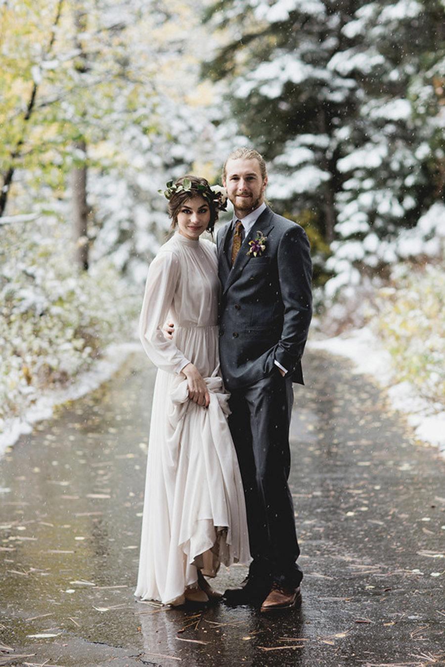 UNA BODA DE INVIERNO EN LA MONTAÑA boda-navidad