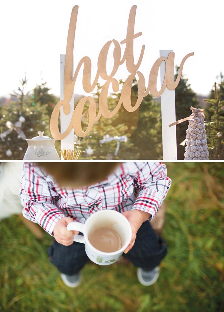 HOT COCOA BAR PARA NIÑOS bodas-invierno-hot-cocoa