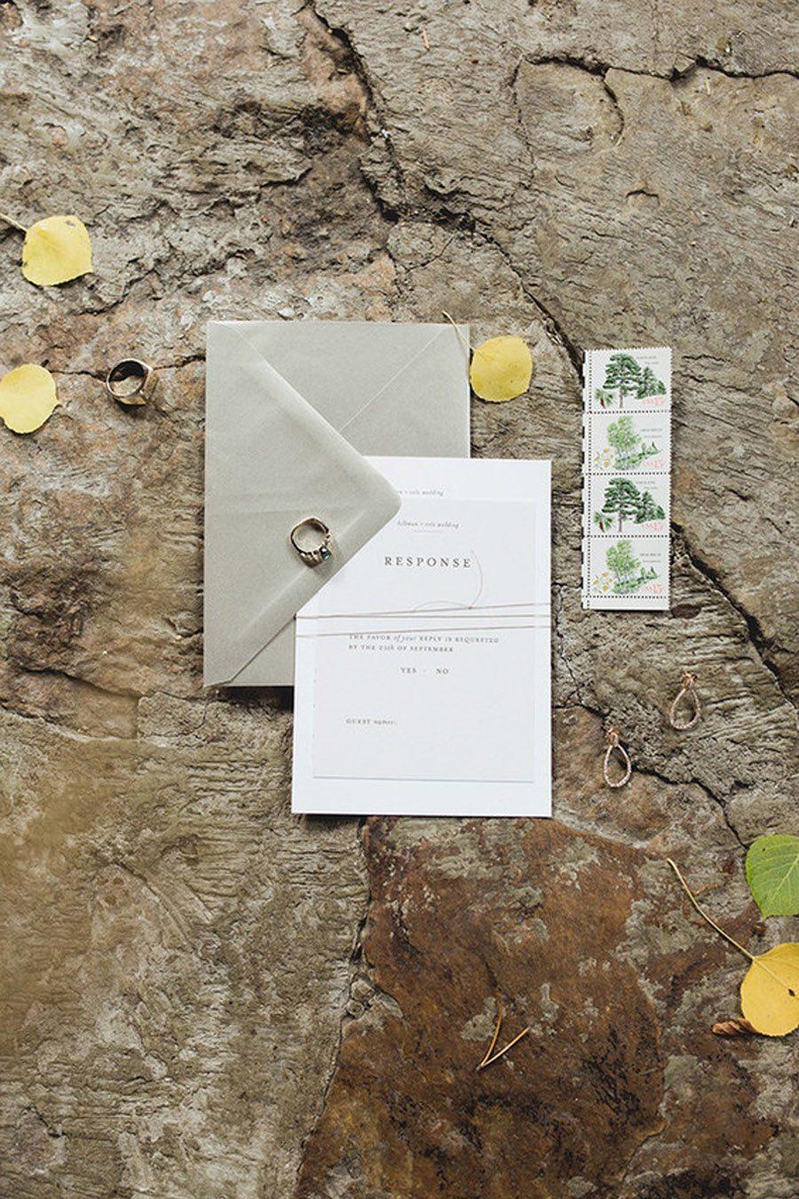 UNA BODA DE INVIERNO EN LA MONTAÑA invitaciones-boda-invierno