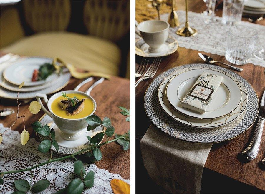 UNA BODA DE INVIERNO EN LA MONTAÑA mesas-boda-navidad