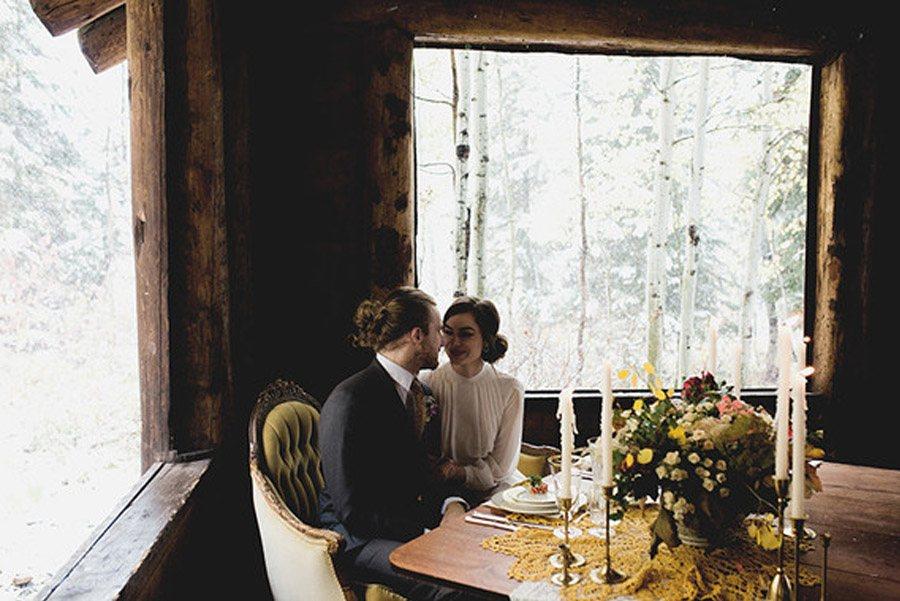 UNA BODA DE INVIERNO EN LA MONTAÑA navidad-boda