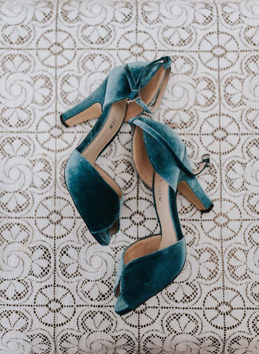 ZAPATOS DE NOVIA DE TERCIOPELO boda-zapato-terciopelo