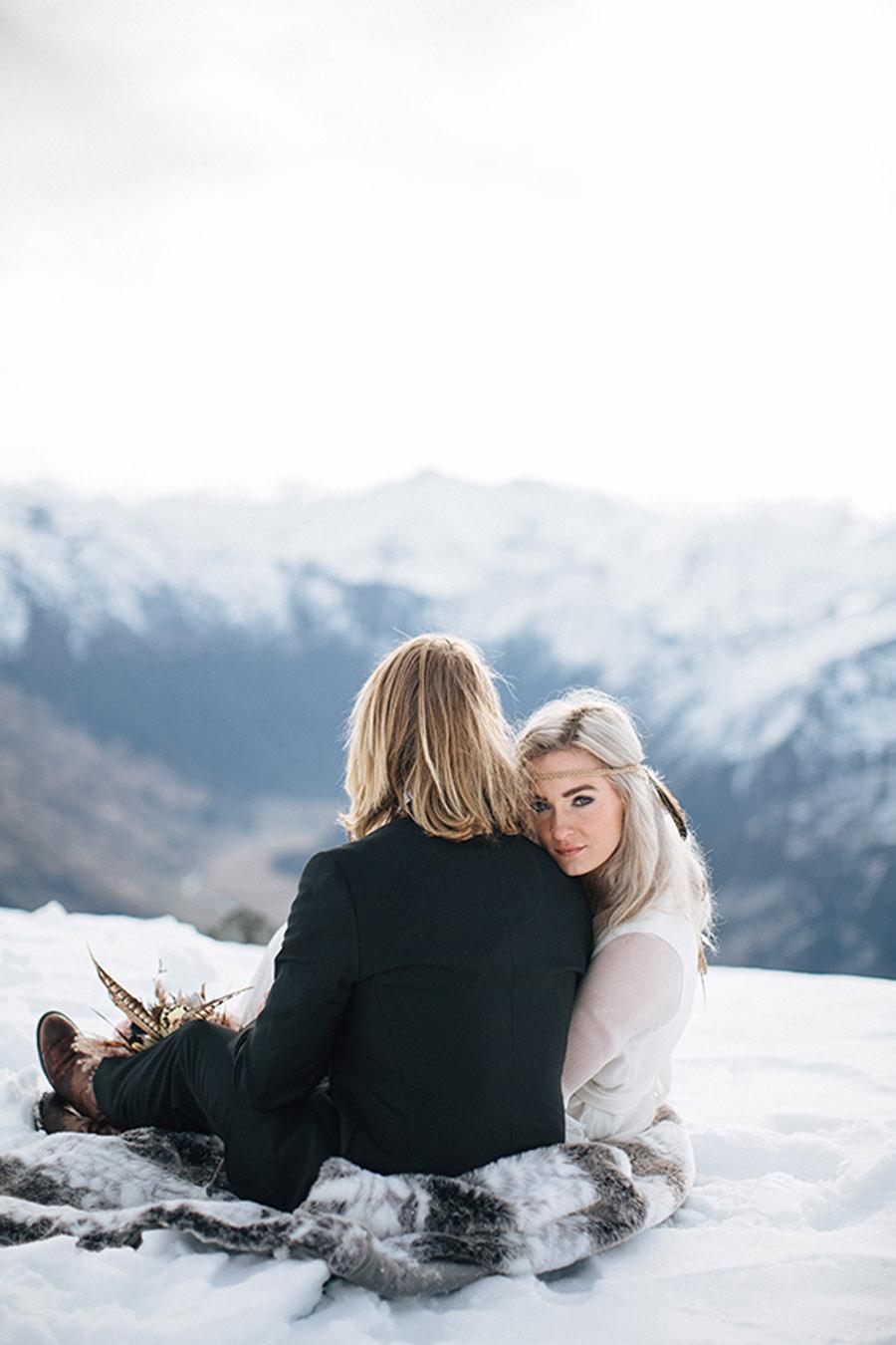 SESIÓN DE BODA EN ALTA MONTAÑA bodas-invierno