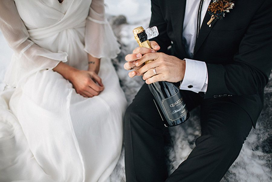 SESIÓN DE BODA EN ALTA MONTAÑA invierno-bodas