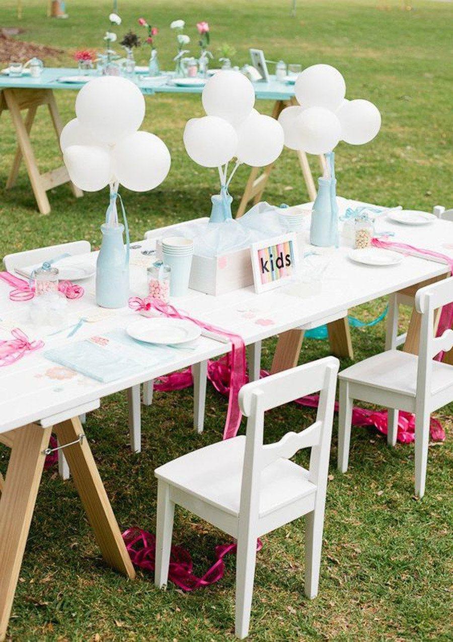IDEAS PARA DECORAR LA MESA DE LOS NIÑOS mesa-para-niños-boda