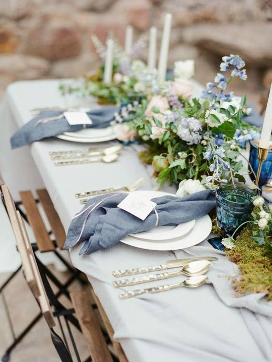 DECORACIÓN DE SERVILLETAS servilletas-bodas