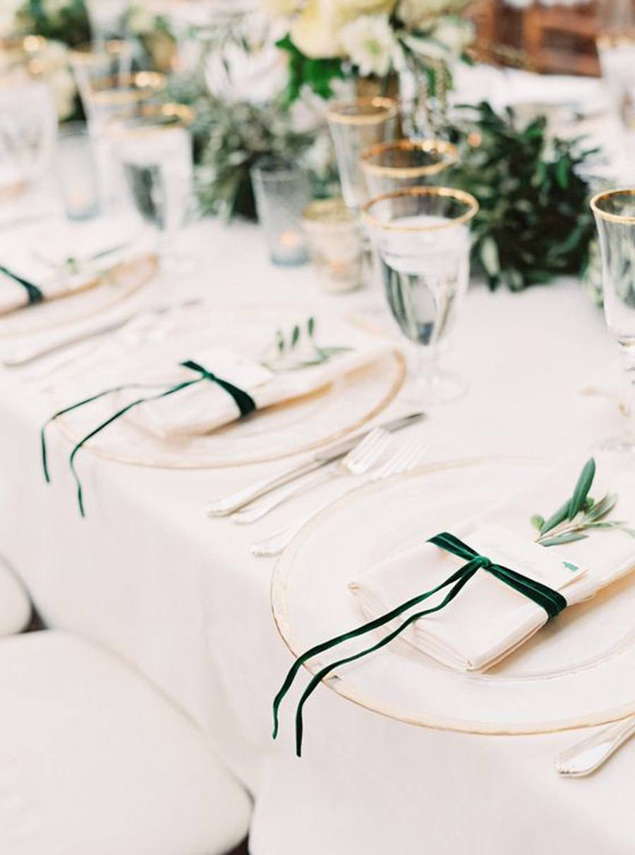 DECORACIÓN DE SERVILLETAS servilletas-decoración-bodas