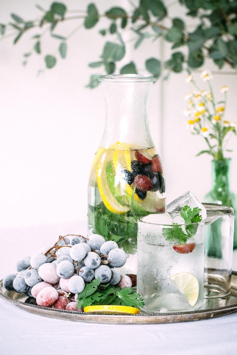 BUFFET DE AGUAS SABORIZADAS agua-saborizada-buffet-boda