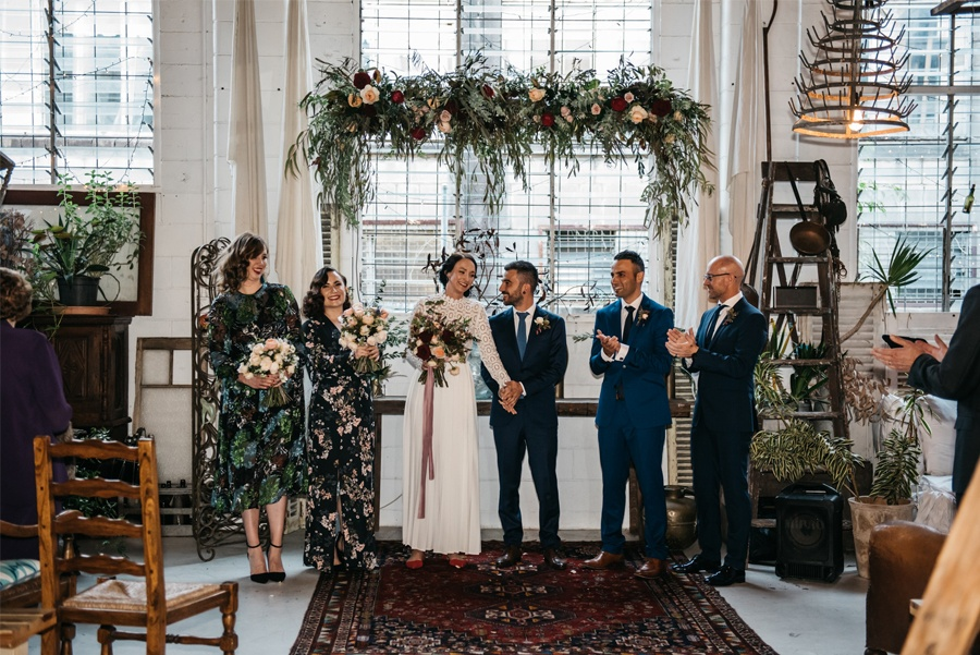 NATASHA & RAMON: ROMÁNTICA BODA EN UN ESPACIO SINGULAR boda-ceremonias