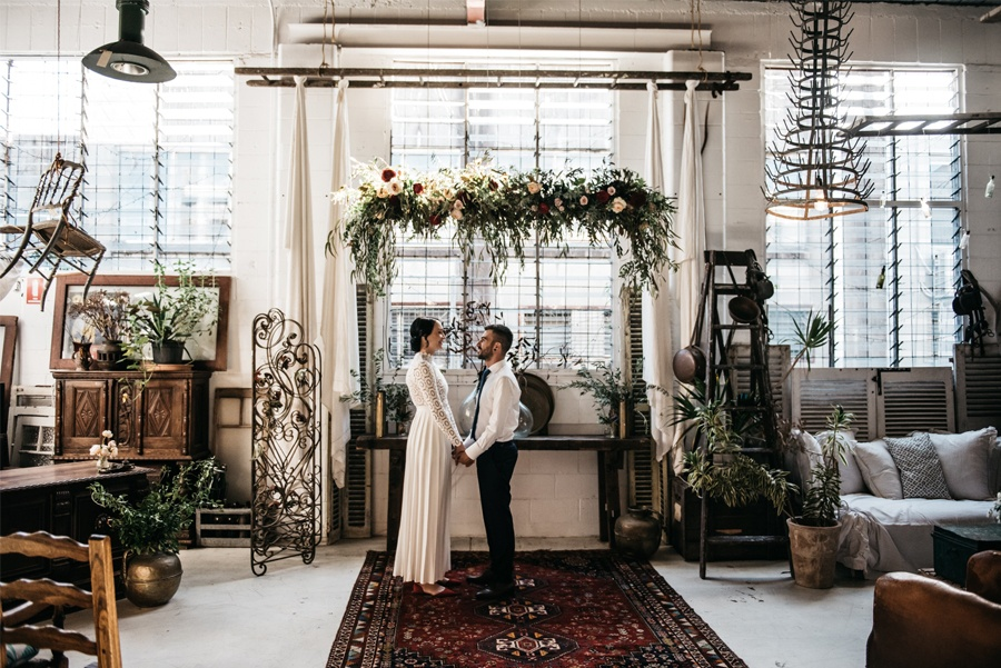 NATASHA & RAMON: ROMÁNTICA BODA EN UN ESPACIO SINGULAR ceremonias-boda