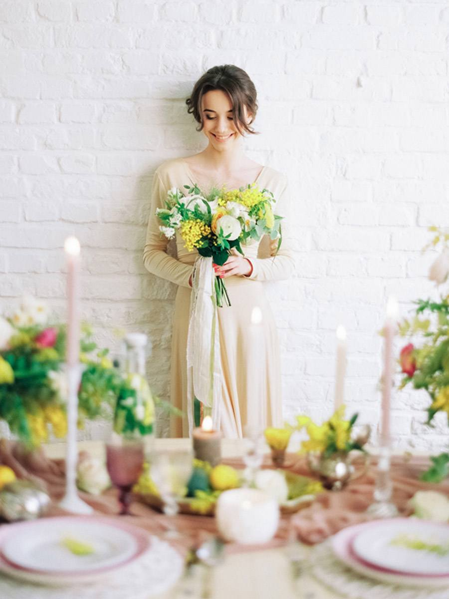 INSPIRACIÓN: MIMOSAS deco-boda-mimosas