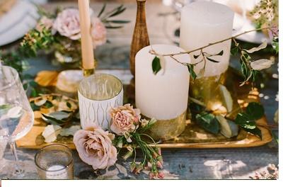 NOSTÁLGICA DECORACIÓN DE MESA deco-boda