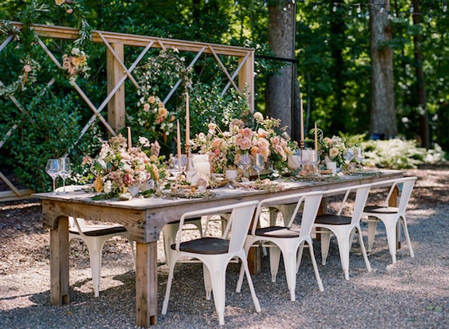 NOSTÁLGICA DECORACIÓN DE MESA decoracion-mesa-bodas