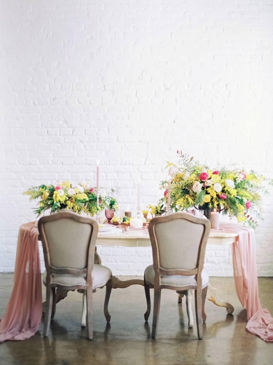 INSPIRACIÓN: MIMOSAS decoracion-mesa-mimosas