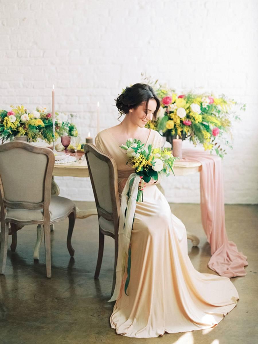 INSPIRACIÓN: MIMOSAS mimosas-novias