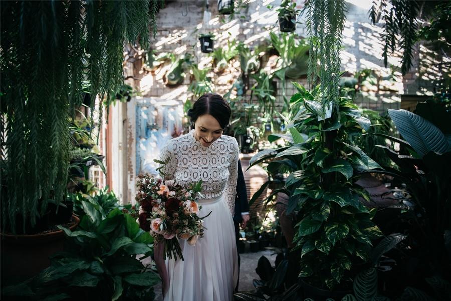 NATASHA & RAMON: ROMÁNTICA BODA EN UN ESPACIO SINGULAR novia