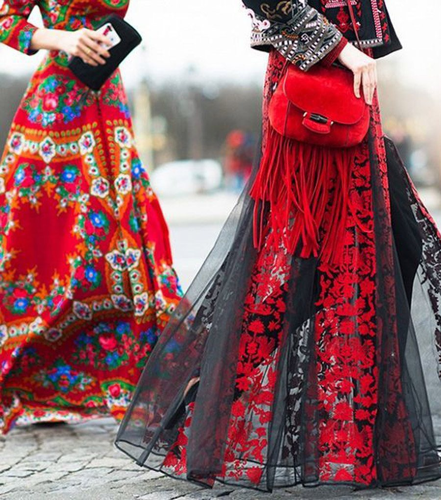 LA INVITADA PERFECTA SEGÚN TU HORÓSCOPO vestido-folk
