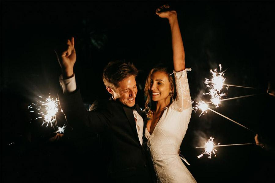 JASON & DANIELLE: EL AMOR ESTÁ EN EL AIRE baile-boda