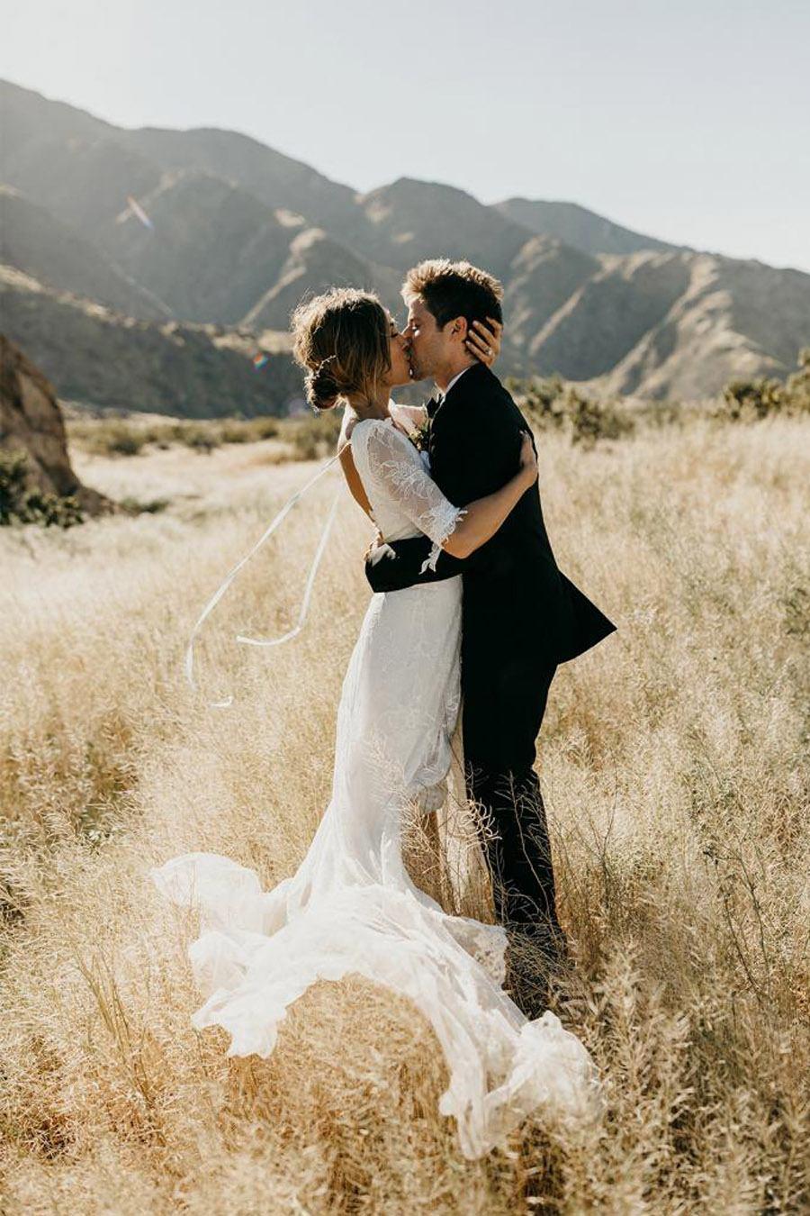 JASON & DANIELLE: EL AMOR ESTÁ EN EL AIRE boda-real