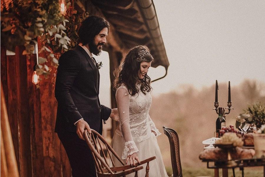 ARANTZA IN LOVE cena-boda