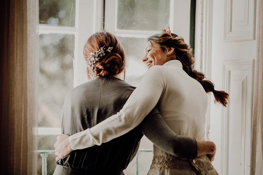 UNA BODA ÍNTIMA EN PORTUGAL madre-novia