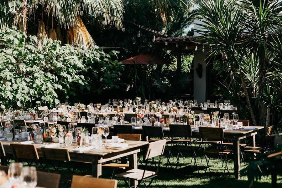 JASON & DANIELLE: EL AMOR ESTÁ EN EL AIRE mesas-boda