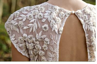 VESTIDOS DE NOVIA CON BORDADOS novia-vestido-bordado