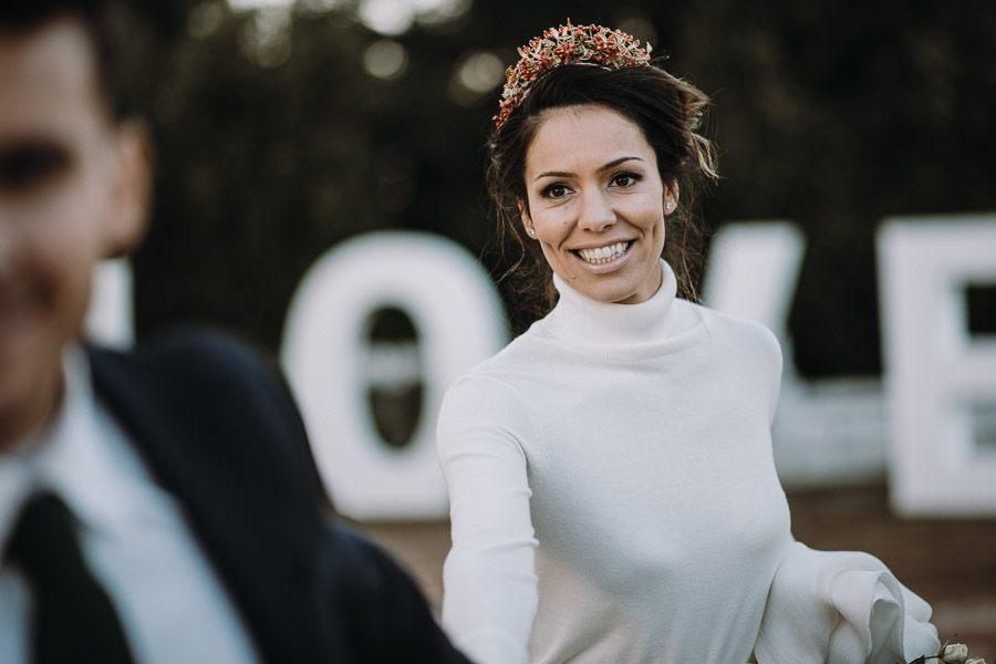 UNA BODA ÍNTIMA EN PORTUGAL novia