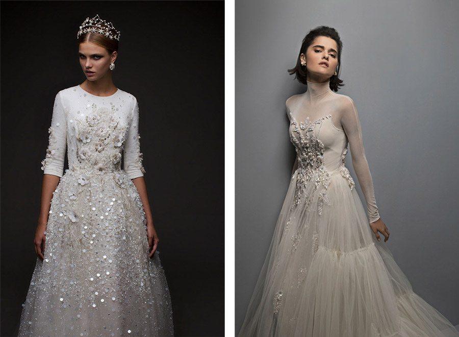 TENDENCIA: PERLAS novias-vestidos-perlas