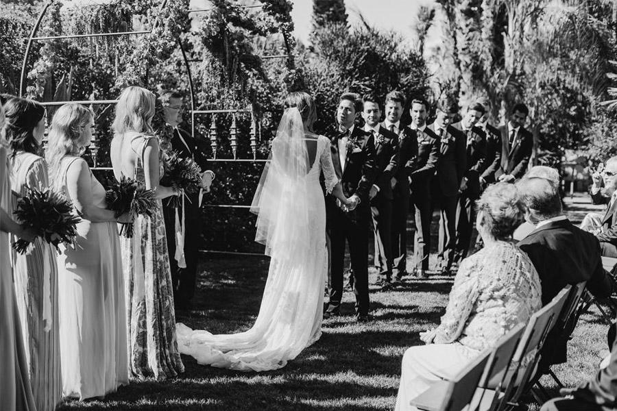 JASON & DANIELLE: EL AMOR ESTÁ EN EL AIRE novios-boda