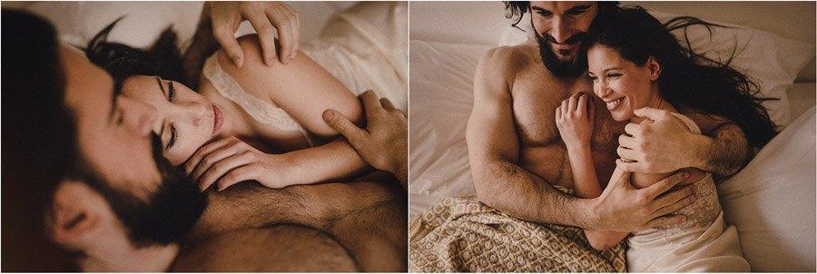 ARANTZA IN LOVE novios-cama