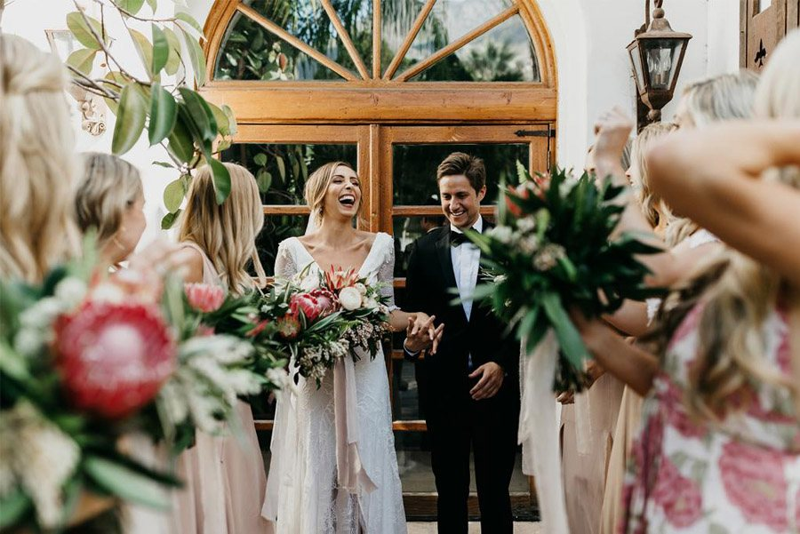 JASON & DANIELLE: EL AMOR ESTÁ EN EL AIRE primavera-boda