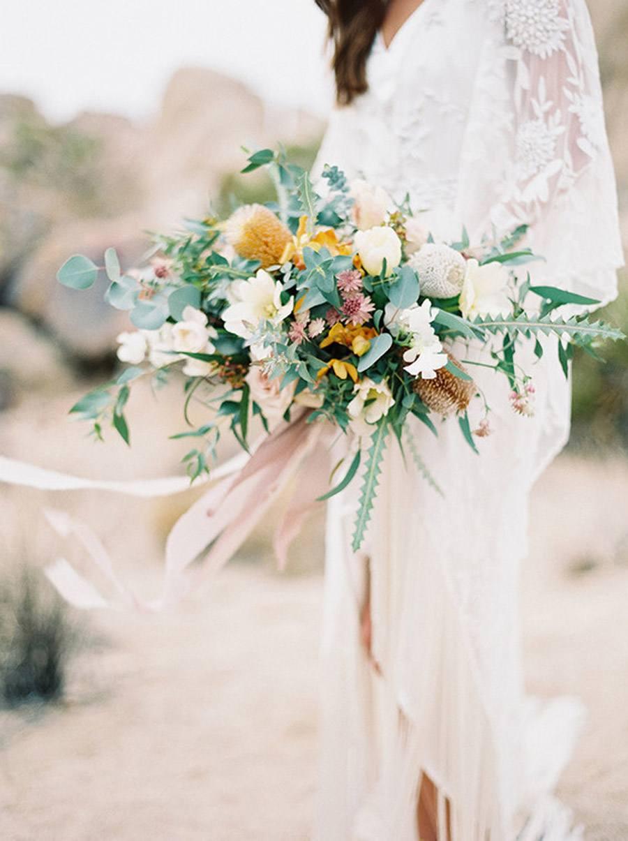 INSPIRACIÓN BOHEMIA EN EL DESIERTO boda-boho-desierto
