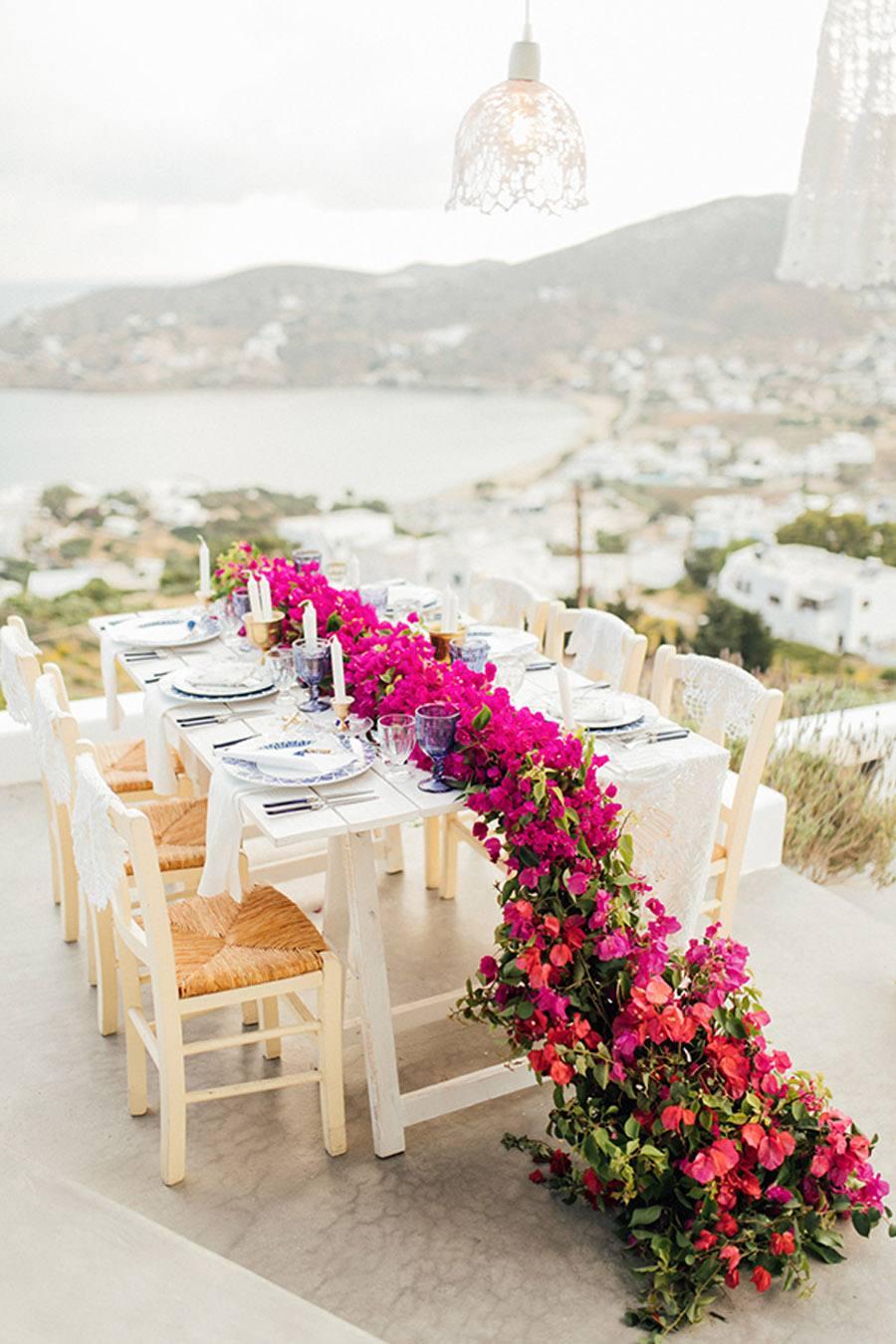 UNA BODA GRIEGA JUNTO AL MAR boda-griega-deco-mesa