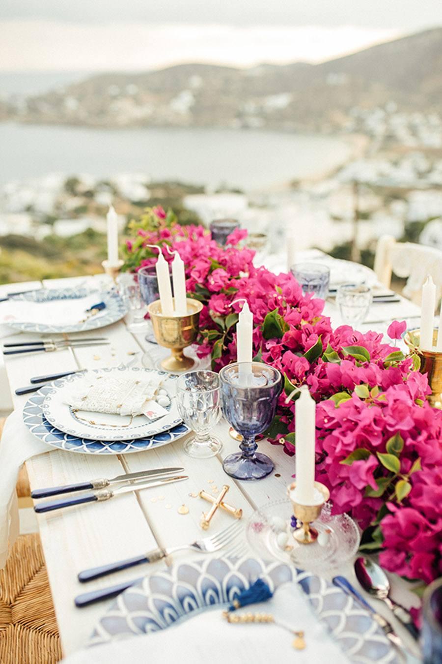UNA BODA GRIEGA JUNTO AL MAR boda-griega-decoracion