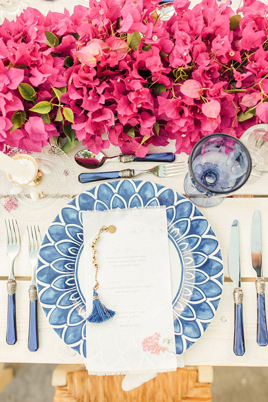 UNA BODA GRIEGA JUNTO AL MAR boda-griega-mesa