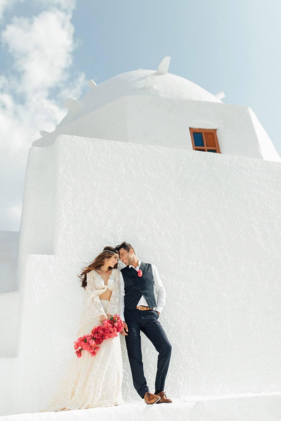 UNA BODA GRIEGA JUNTO AL MAR boda-griega-novios