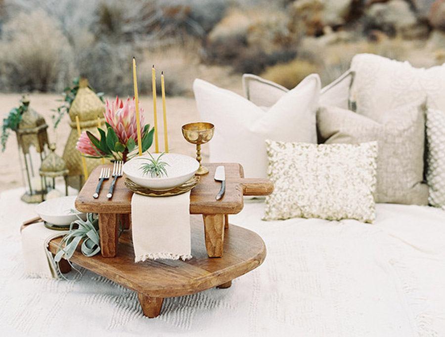 INSPIRACIÓN BOHEMIA EN EL DESIERTO deco-boda-desierto