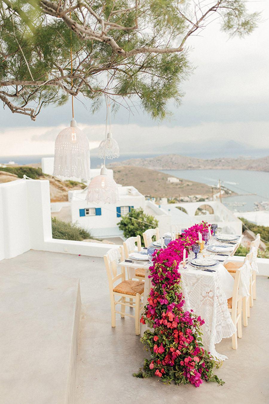 UNA BODA GRIEGA JUNTO AL MAR decoracion-boda-griega