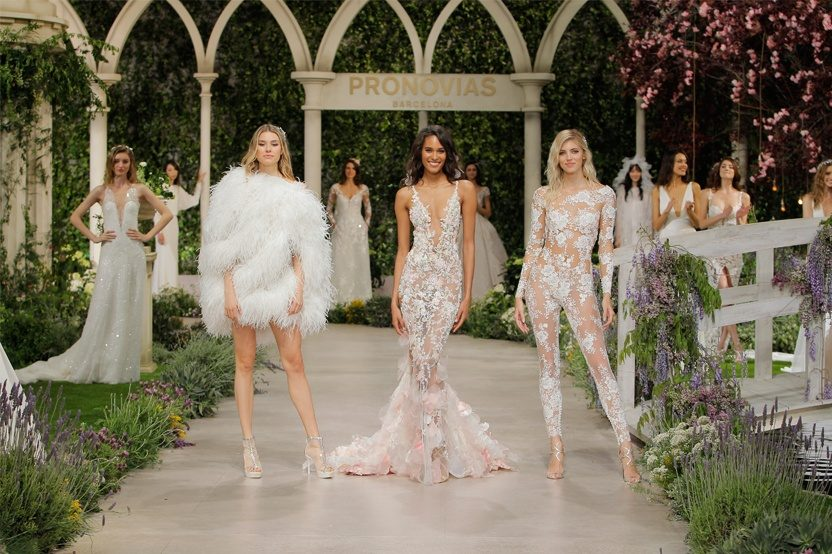 IN BLOOM, COLECCIÓN ATELIER PRONOVIAS 2019