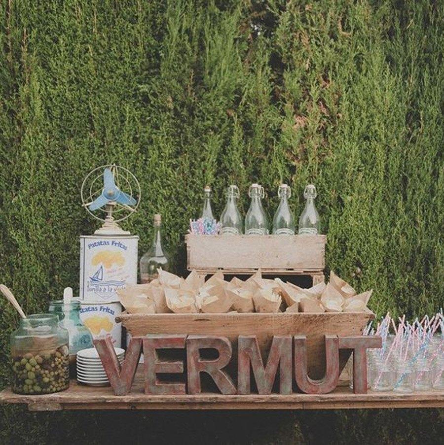 BARRA DE VERMUT vermut-buffet