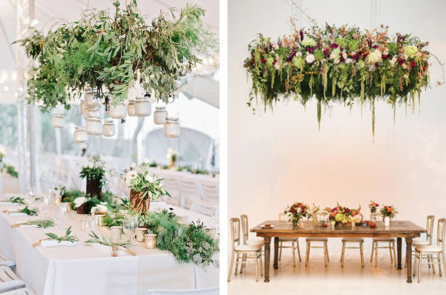 INSPIRACIÓN: CANDELABROS DE FLORES SUSPENDIDOS boda-candelabro-de-flores-1