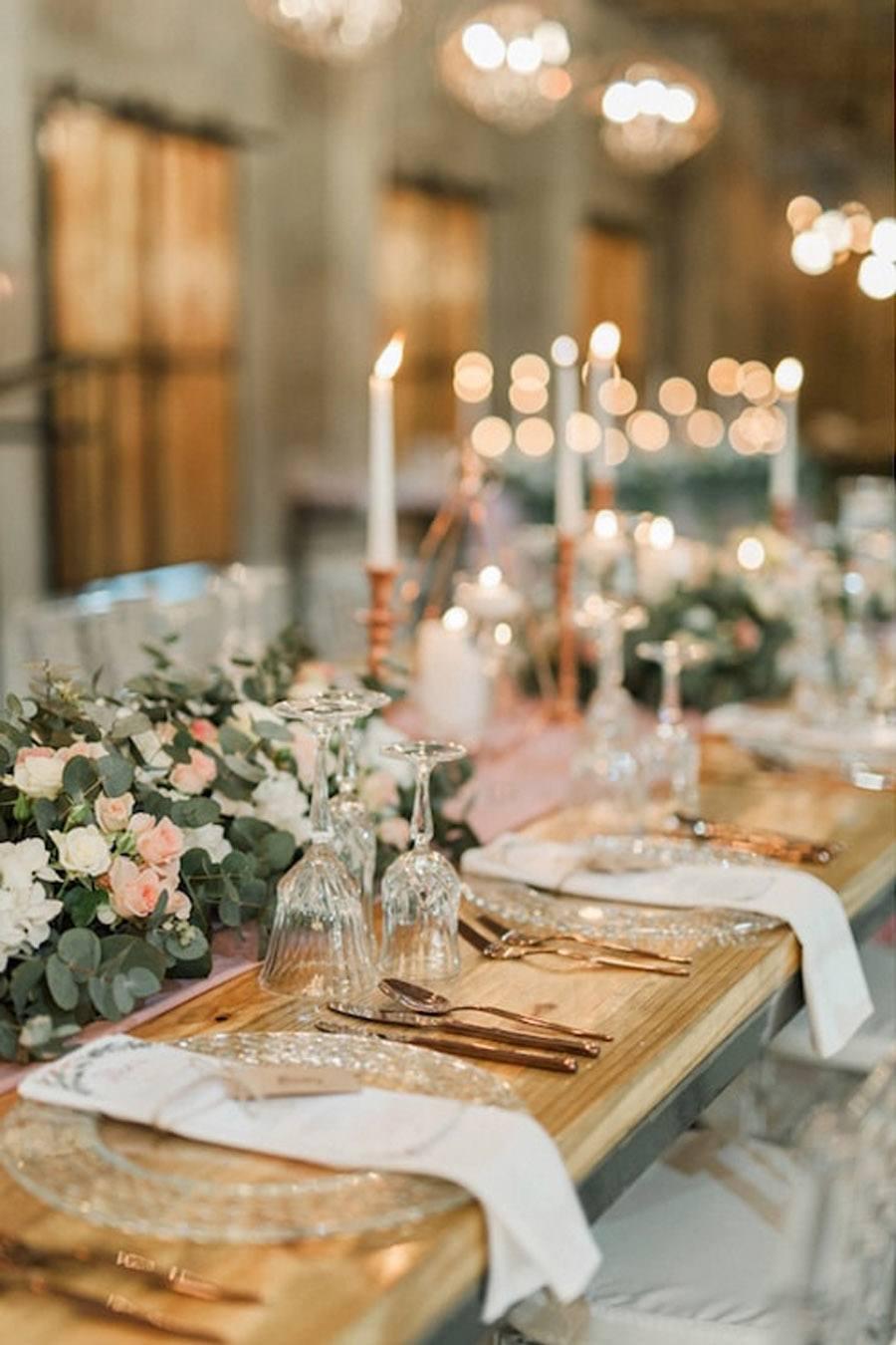 DECORACIÓN DE BODA EN ROSA Y ORO deco-boda-rosa-y-oro