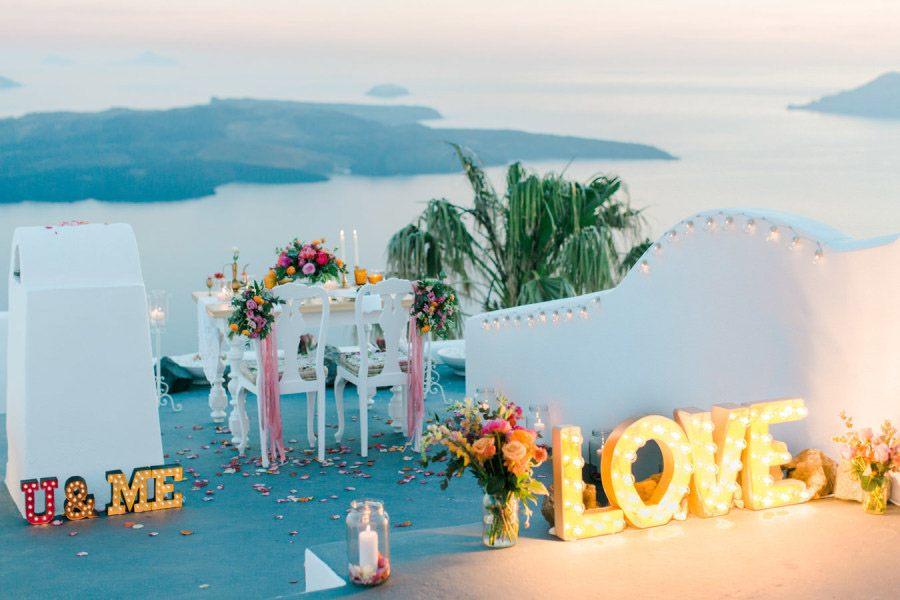 BODA ÍNTIMA EN SANTORINI deco-boda